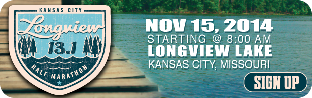 Longview Lake Half Marathon on 2014-11-15